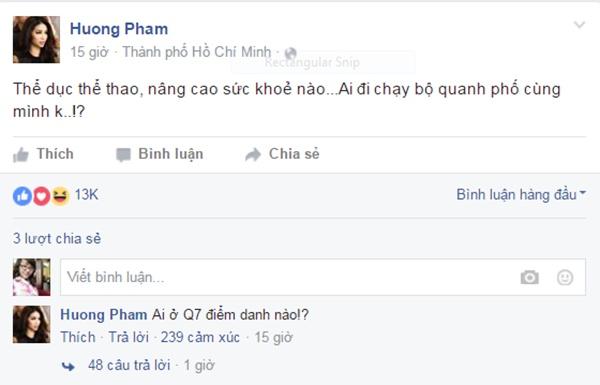 Soi bí quyết giúp da đẹp, dáng thon của Phạm Hương