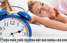 Biện pháp chữa trị bệnh mất ngủ không cần dùng thuốc