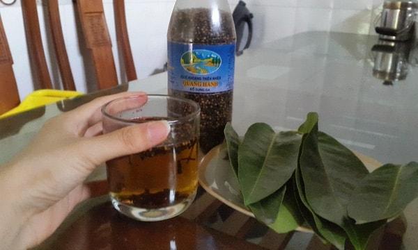Nước lá vối mà thức uống ưa thích của nhiều người
