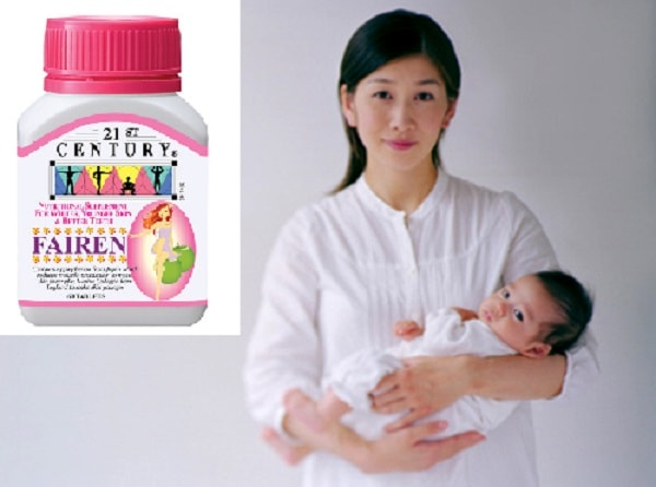Thuốc nám Fairen không ảnh hưởng đến mẹ và bé