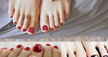 6 kiểu móng chân đẹp 2018 cho những cô nàng sành điệu