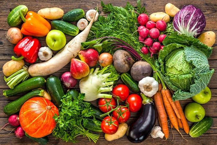 Ăn nhiều rau củ quả sẽ rất tốt cho sức khỏe