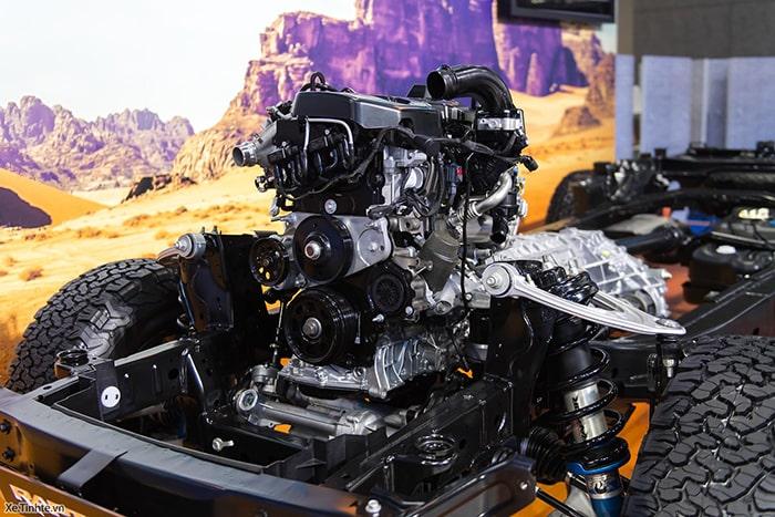 Ford Ranger được tích hợp nhiều tính năng, công nghệ mới