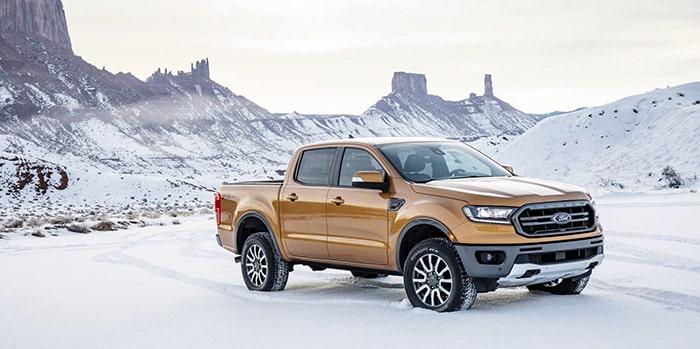 Ford Ranger có thiết kế đậm chất thể thao