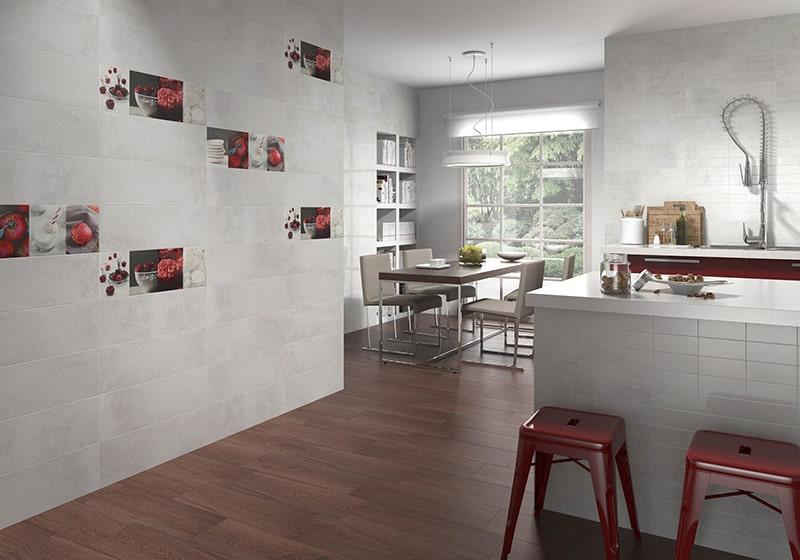 Chọn gạch ốp nhà bếp để không gian thêm đầm ấm