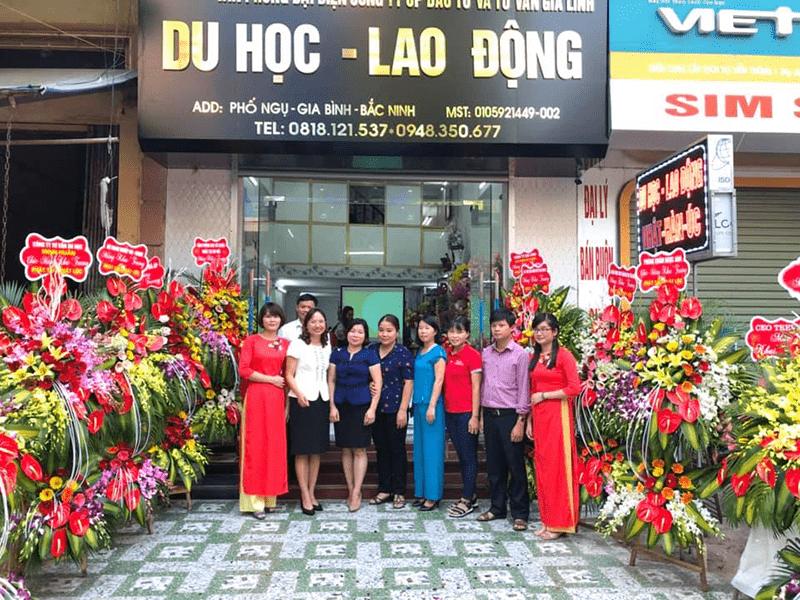 Đội ngũ nhân viên nhiệt tình, tận tâm, trách nhiệm của trung tâm tư vấn du học Gia Linh