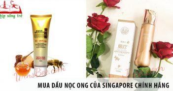 Mua dầu nọc ong của Singapore chính hãng