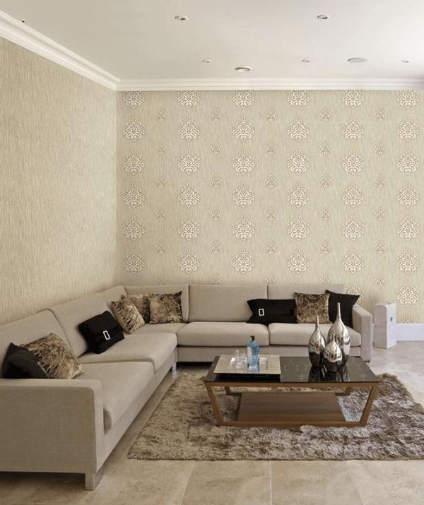 Màu giấy dán tường phù hợp với màu nội thất