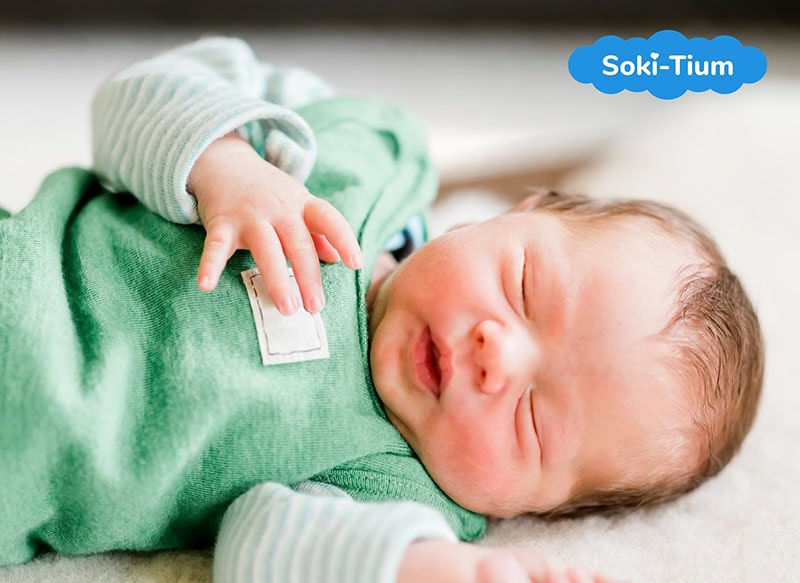 Ngủ không sâu giấc là tình trạng đáng báo động ở trẻ sơ sinh