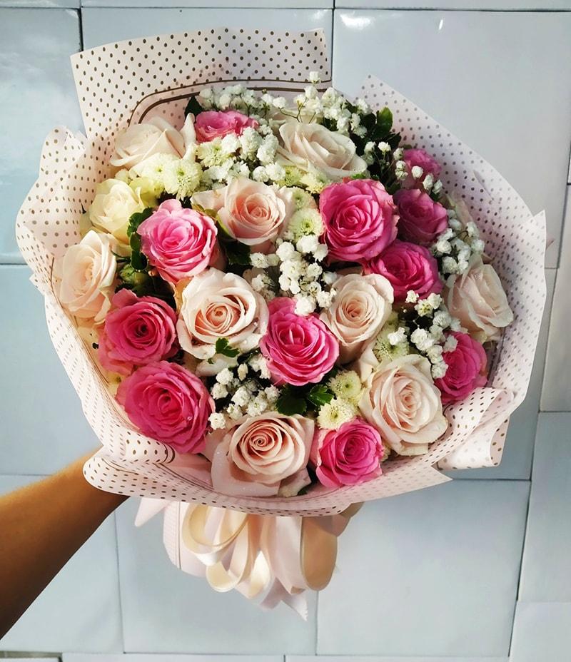 Sinh nhật chị gái bạn có thể tặng hoa hồng