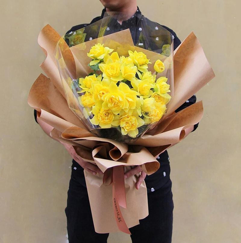 Sinh nhật chị gái bạn có thể tặng hoa thủy tiên