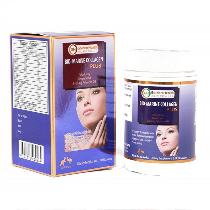 Viên uống Golden Health Bio-Marine Collagen Plus - Internet