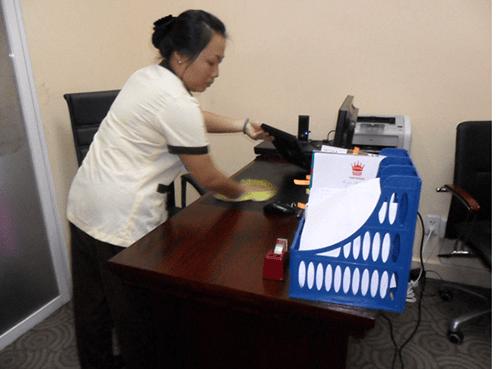 Thuê tạp vụ văn phòng giúp dễ dàng tìm kiếm đồ dùng